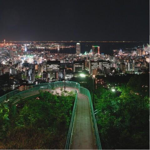 ビーナスブリッジ(神戸市中央区諏訪山町)