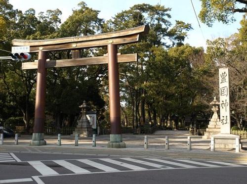 豊国神社(名古屋市営地下鉄「中村公園」駅)