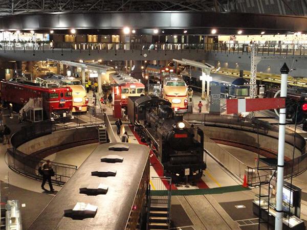 鉄道博物館(大宮市、博物館)
