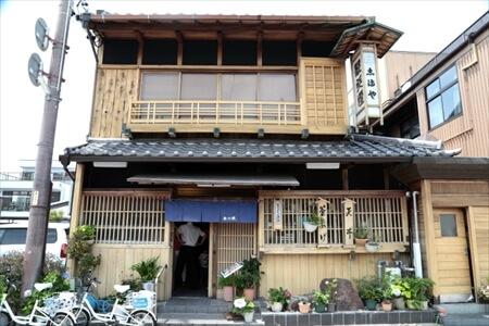歌行燈 本店(桑名・うどん・そば・ハマグリ)