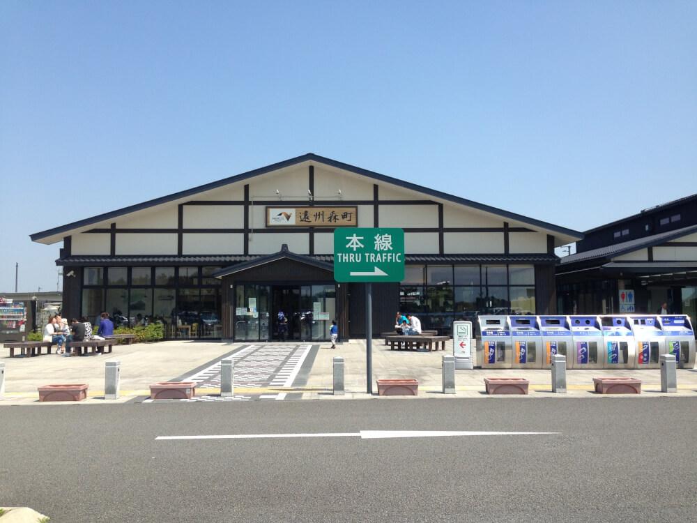 新東名高速道路 遠州森町PA 上り(森町、パーキングエリア)