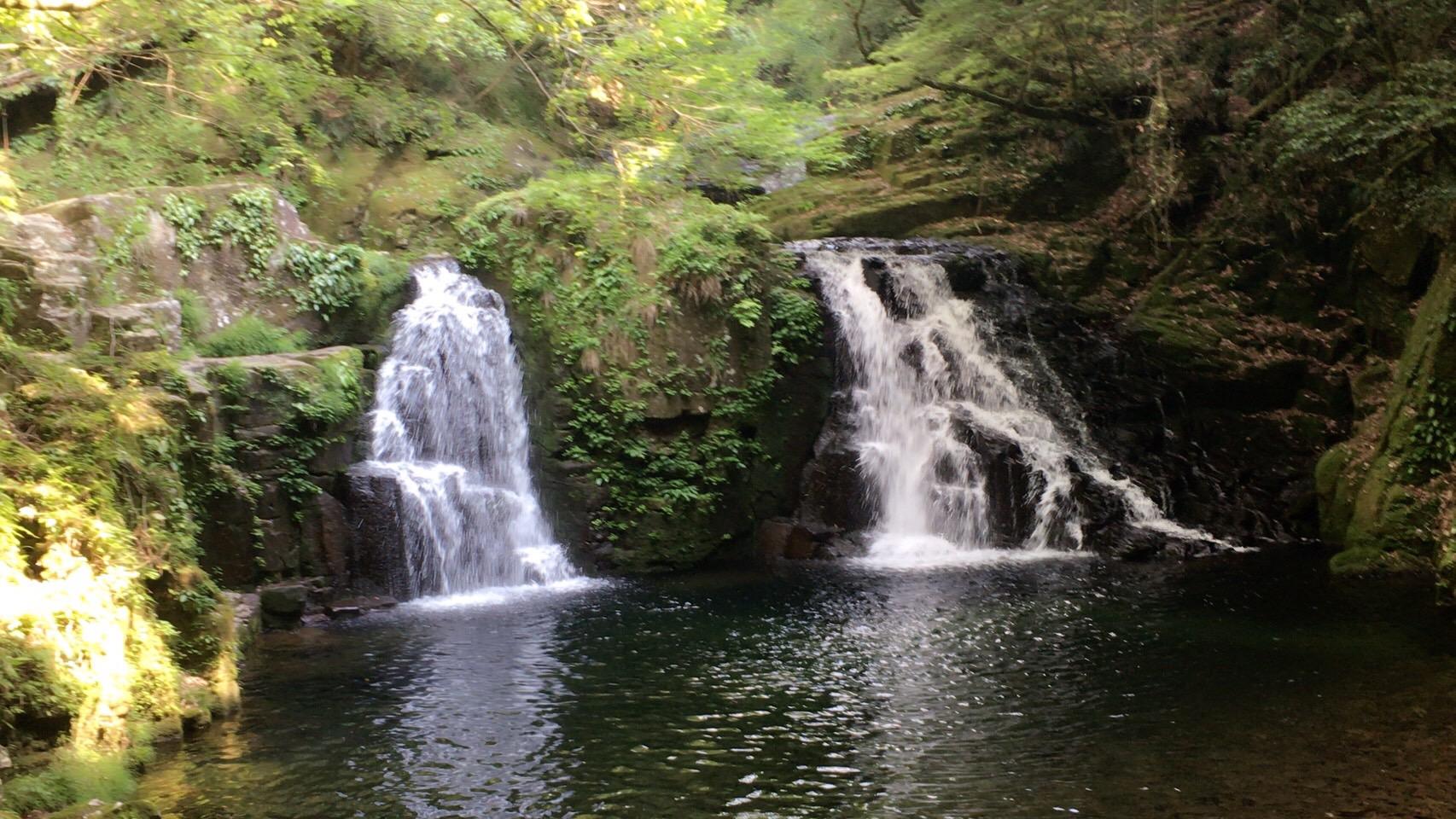 赤目四十八滝(三重県名張市/渓谷、マイナスイオン)