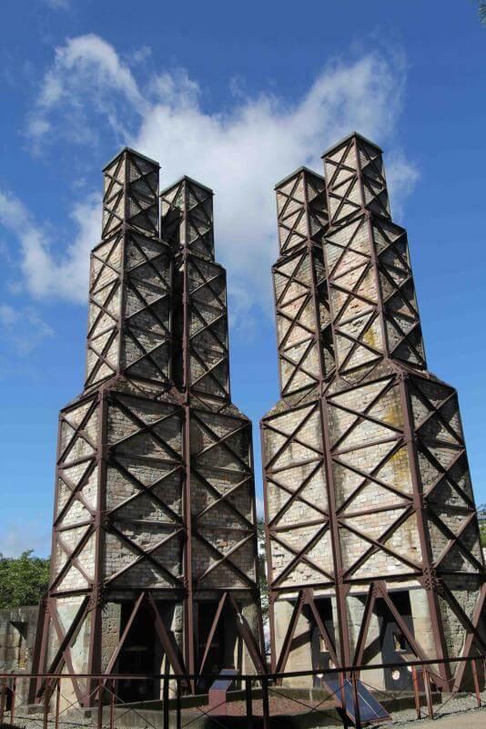韮山反射炉  (静岡県伊豆の国市 観光)