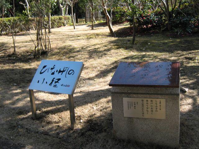ひなげしの小径(千葉県松戸市観光)