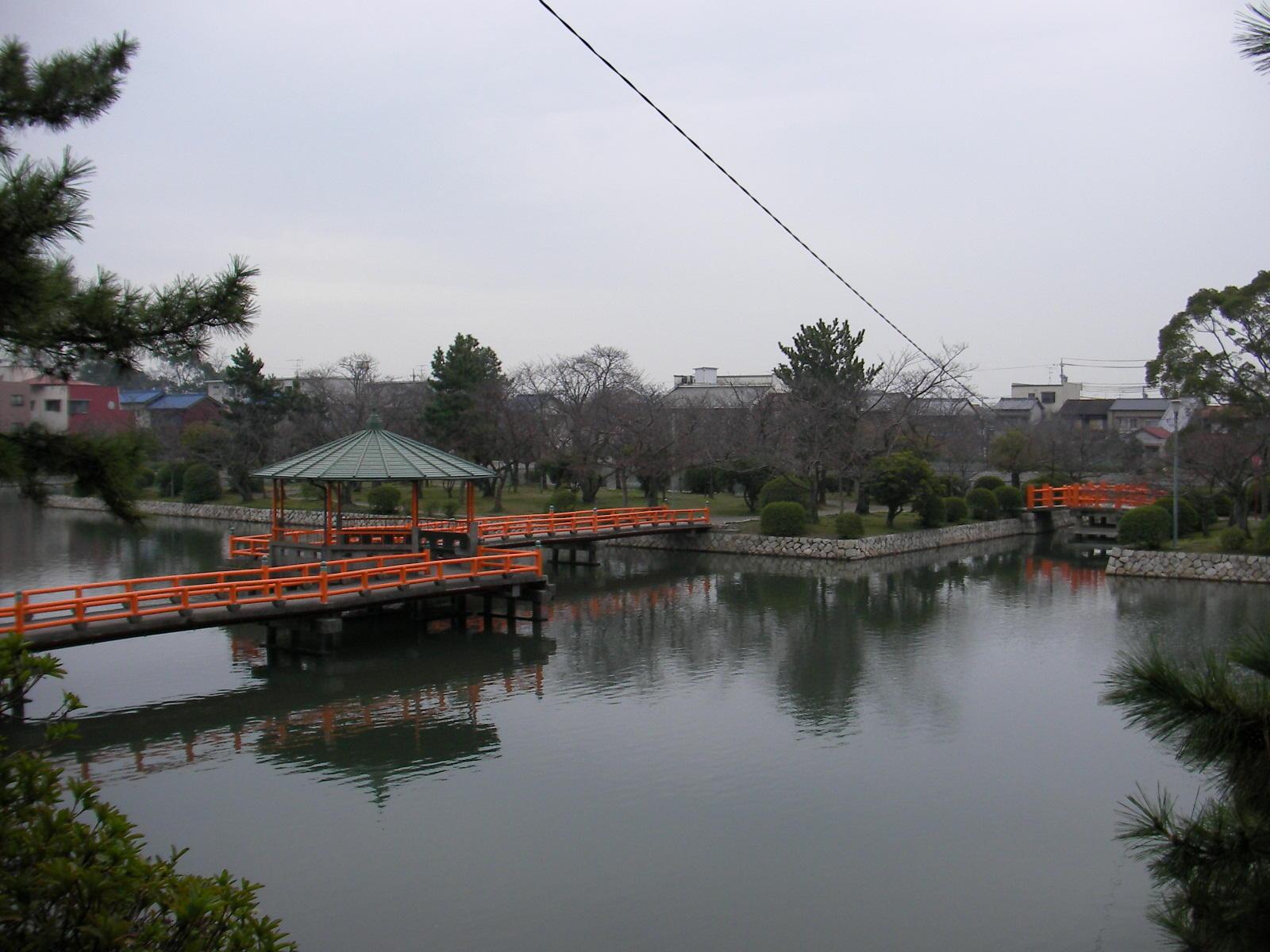 九華公園(桑名市・城跡)