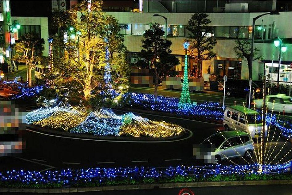 千葉県/イルミネーション「新松戸光のフェスタ」