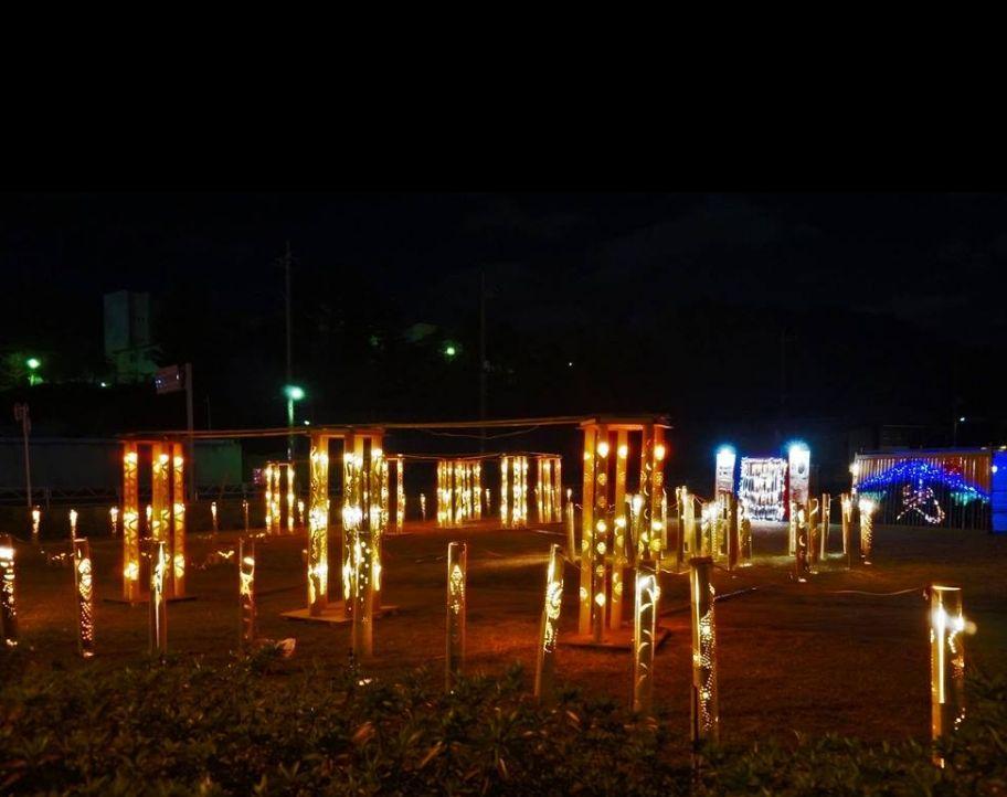 千葉県/イルミネーション「竹宵・ライトアップ」