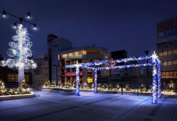 千葉県/イルミネーション「松戸クリスマスファンタジー」