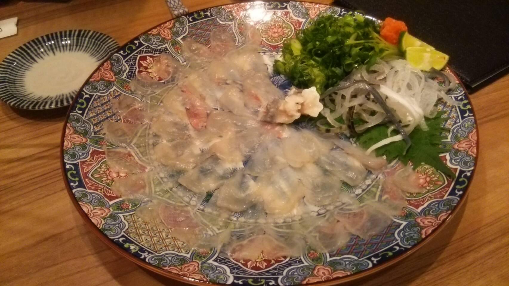 京都祇園のふぐ料理(京都市東山区/ふぐ料理)