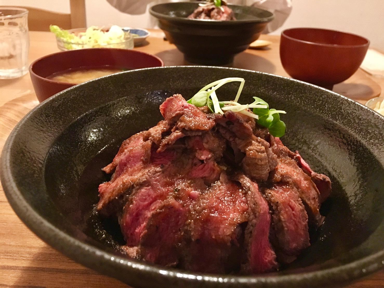 どんどん丼(京都市北区/ステーキ)