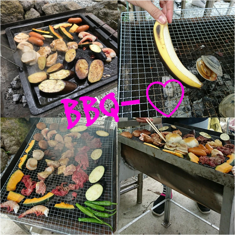 BBQ~!!!!! 富士バーベキュー場山小屋(富士市)
