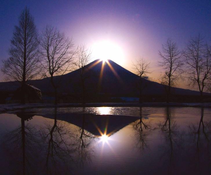 田貫湖でダイヤモンド富士を見よう!(富士市/富士宮)
