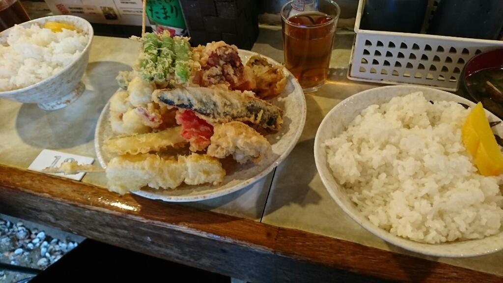 天ぷら大吉(堺市堺区堺魚市場内)/天ぷら