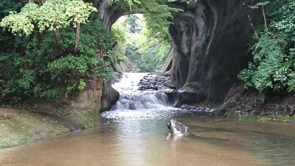 濃溝の滝(千葉県/君津市)