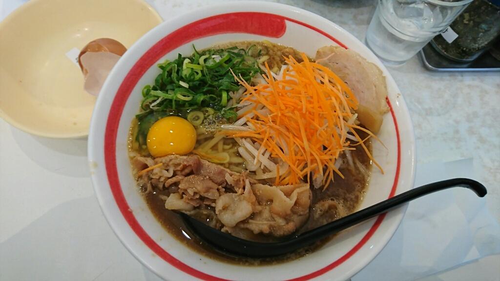 新徳島拉麺 まる徳ラーメン 白鷺本店(南海 白鷺駅/徳島ラーメン)