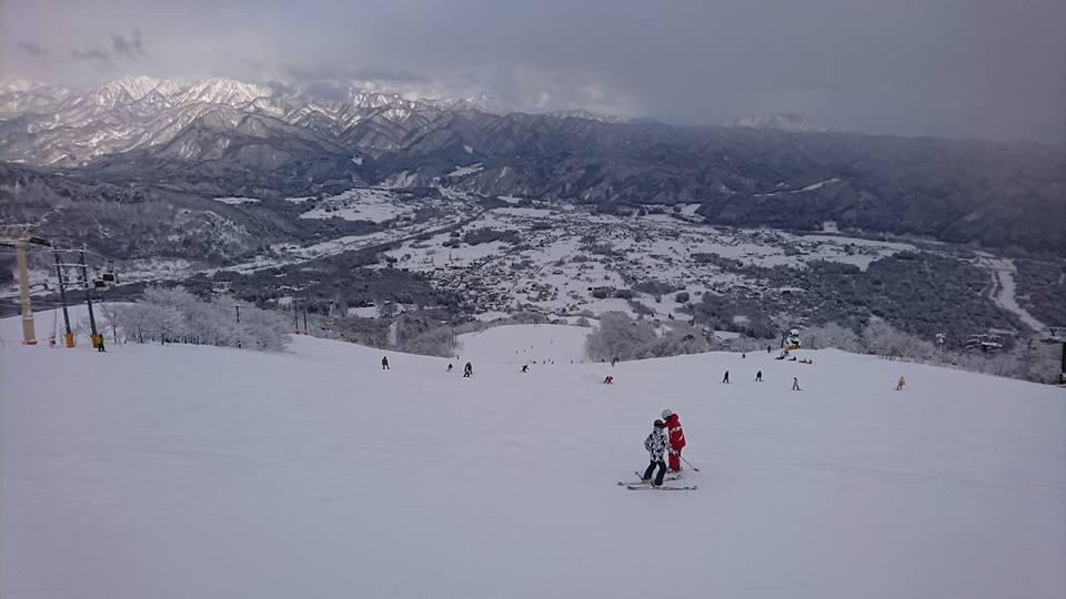 八方尾根スキー場(長野県北安曇郡白馬村)