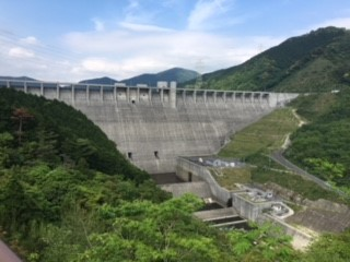 嘉瀬川ダム(佐賀県佐賀市)