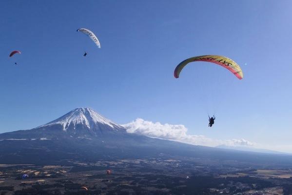 夏の思い出に空を飛んでみては?(静岡県富士宮市)