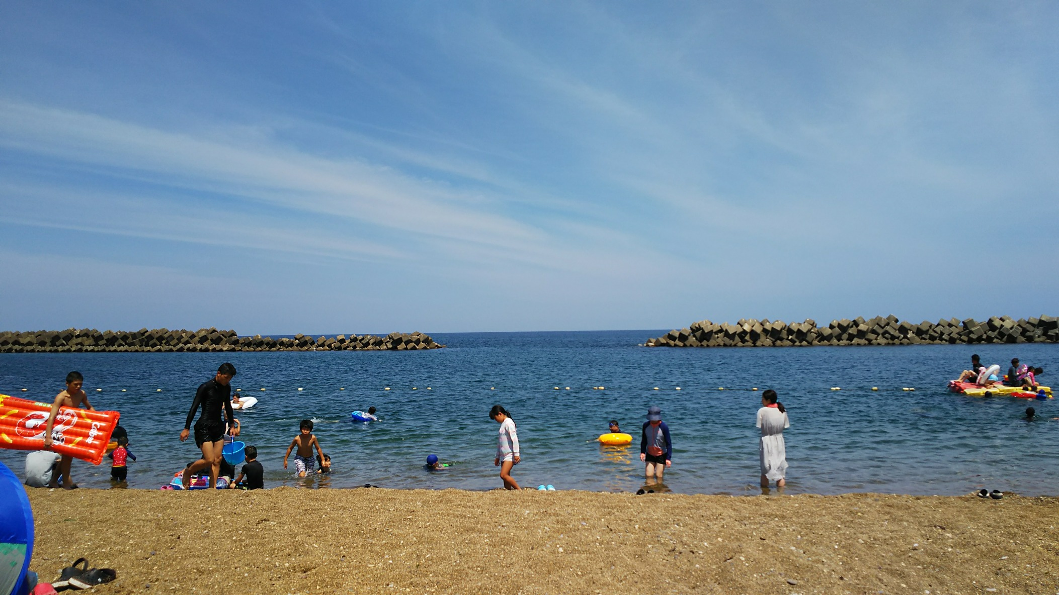 浜地海水浴場(福井県 三国)