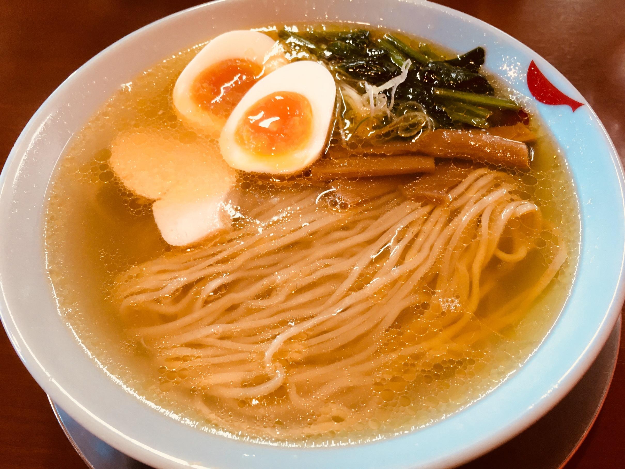 鶏と煮干しの中華そば市松(イチマツ)新潟市中央区幸西/ラーメン