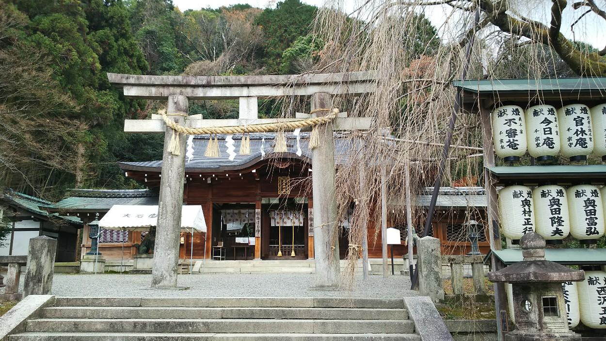 大石神社(京都市山科区)