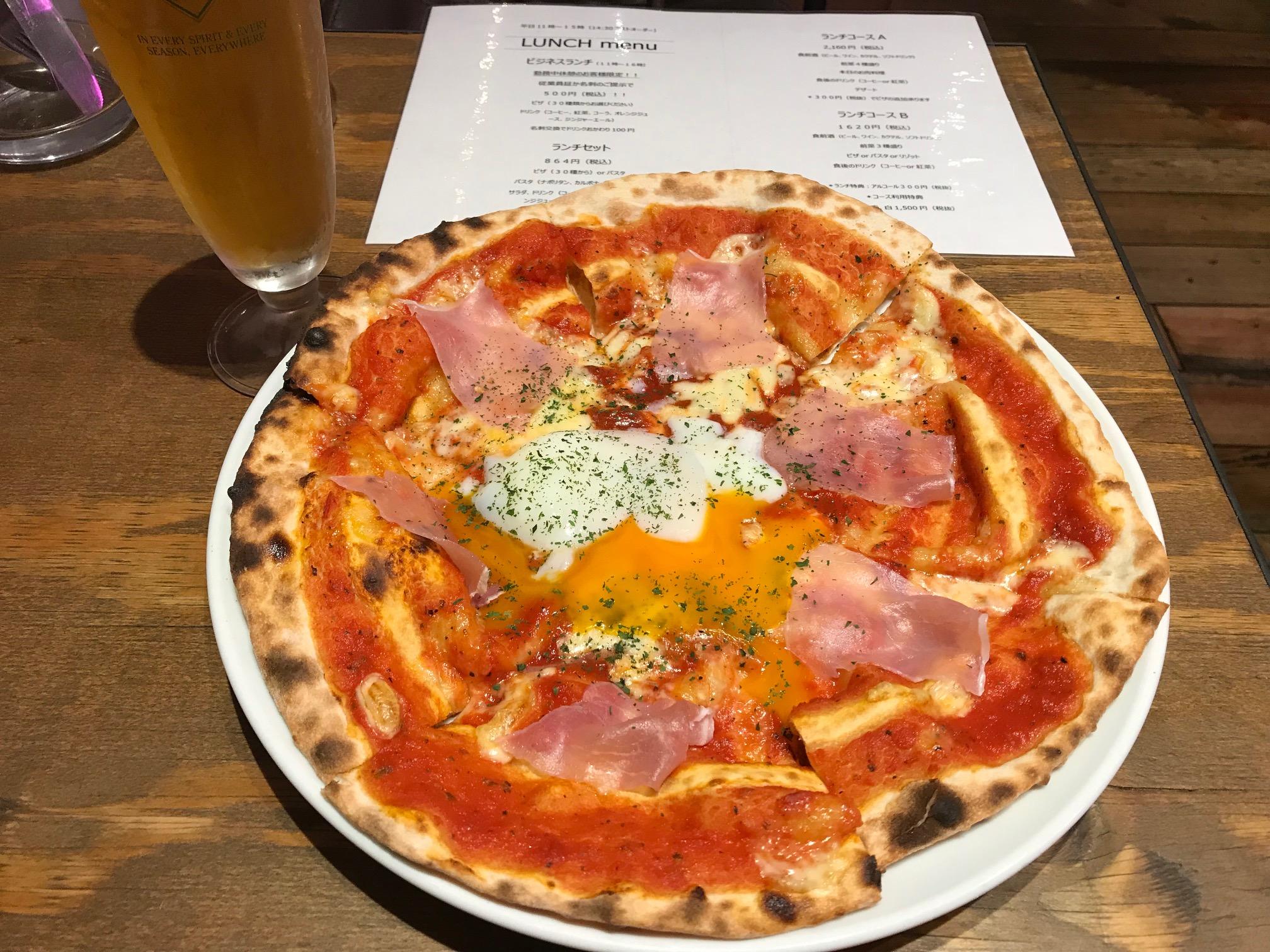 500円の激ウマピザ(CONA たまプラーザ店/イタリアン)