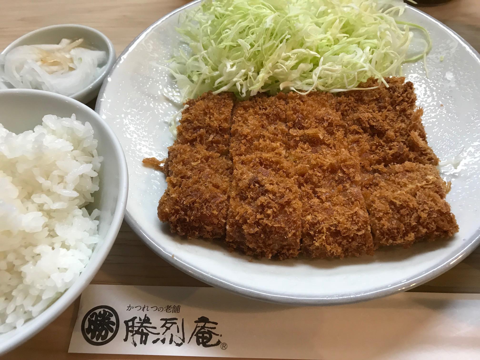 横浜の老舗名店勝烈庵 馬車道総本店 (横浜市/とんかつ)