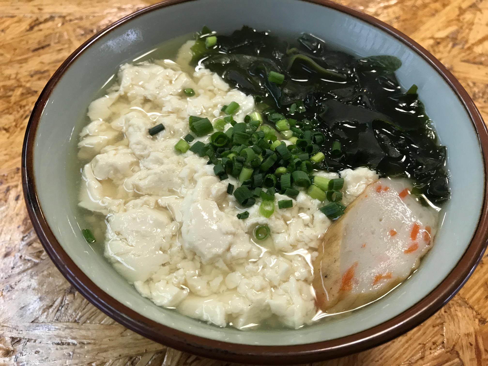 首里城近くの自家製麺がうまいゆうなみ(那覇市/沖縄そば)
