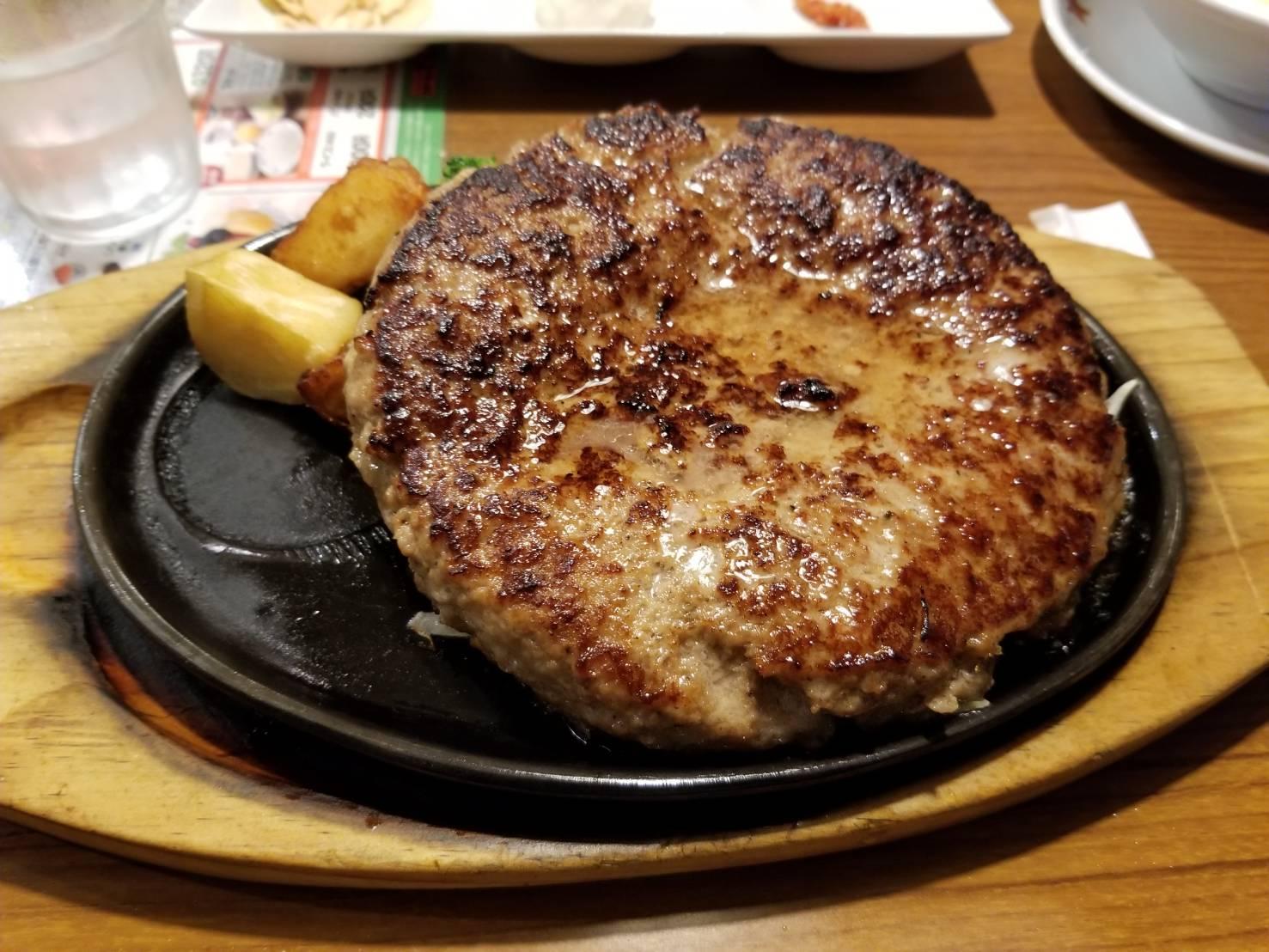 ビッグボーイ香里店(香里園/ハンバーグ)
