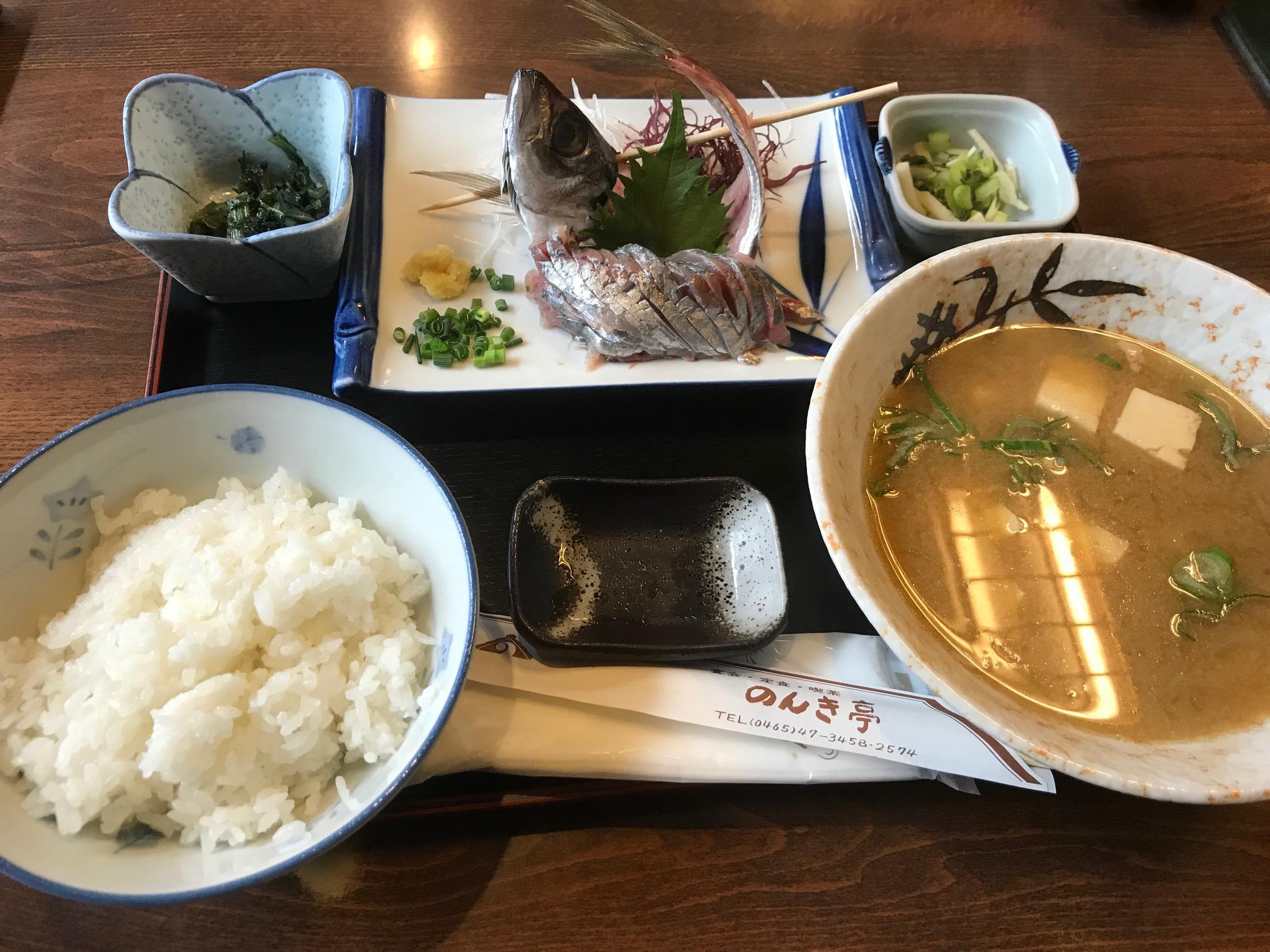 のんき亭(小田原市/海鮮料理)
