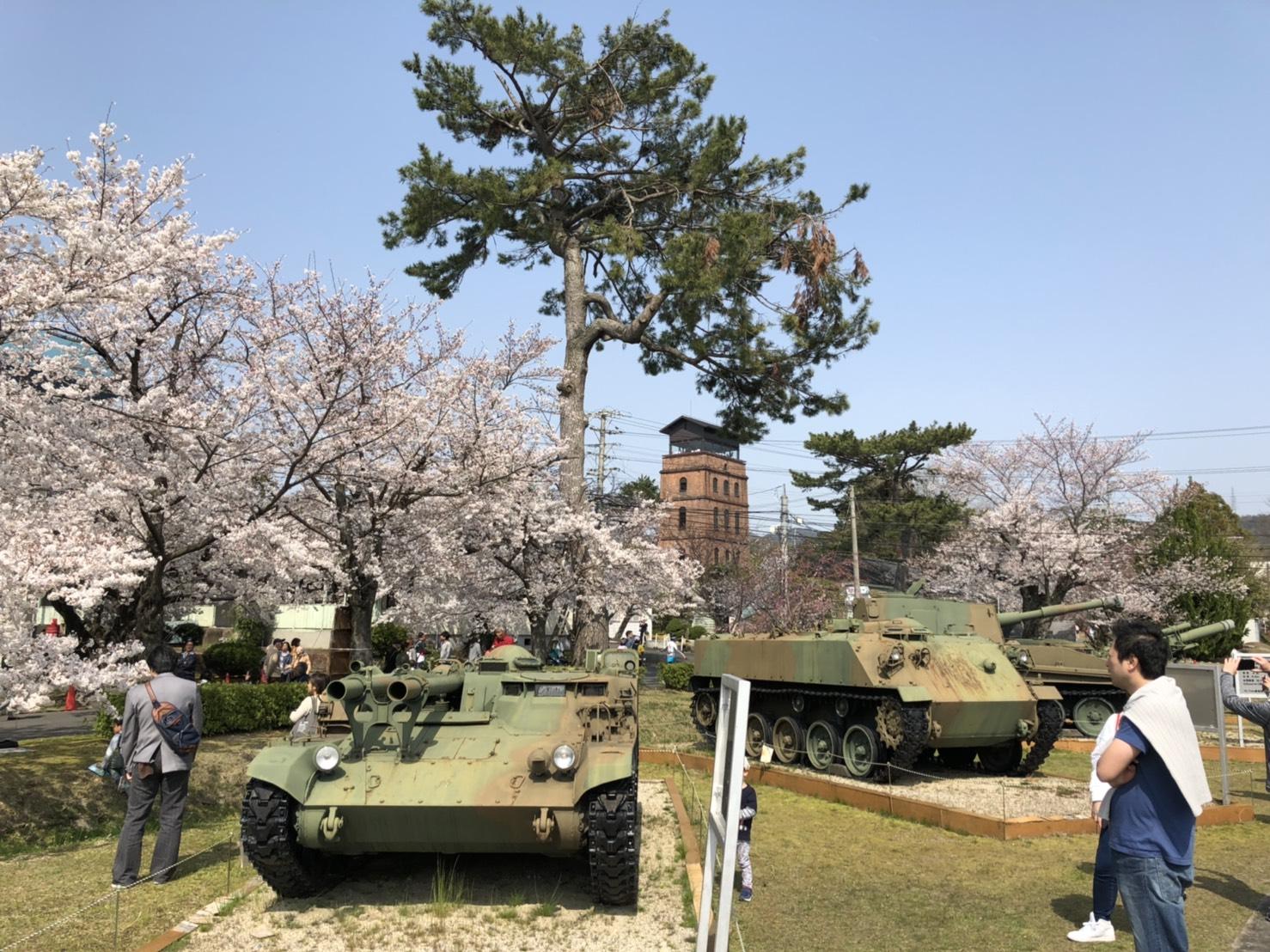 宇治駐屯地桜祭り(宇治市)
