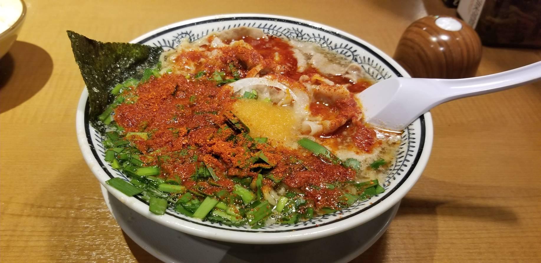 丸源ラーメン 枚方店②(枚方/ラーメン)