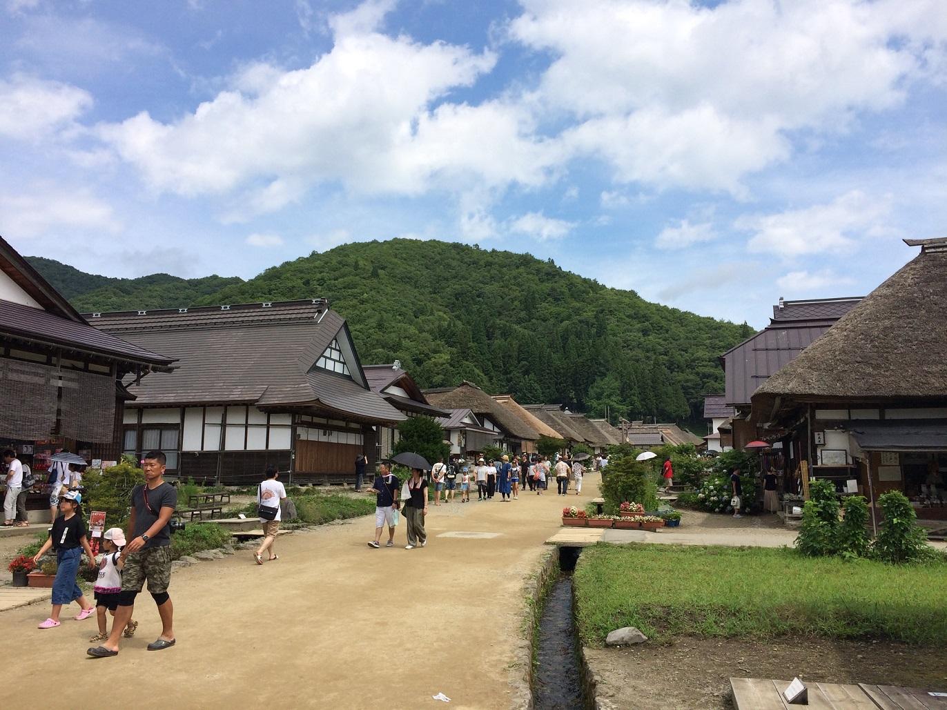 大内宿(福島県南会津郡)