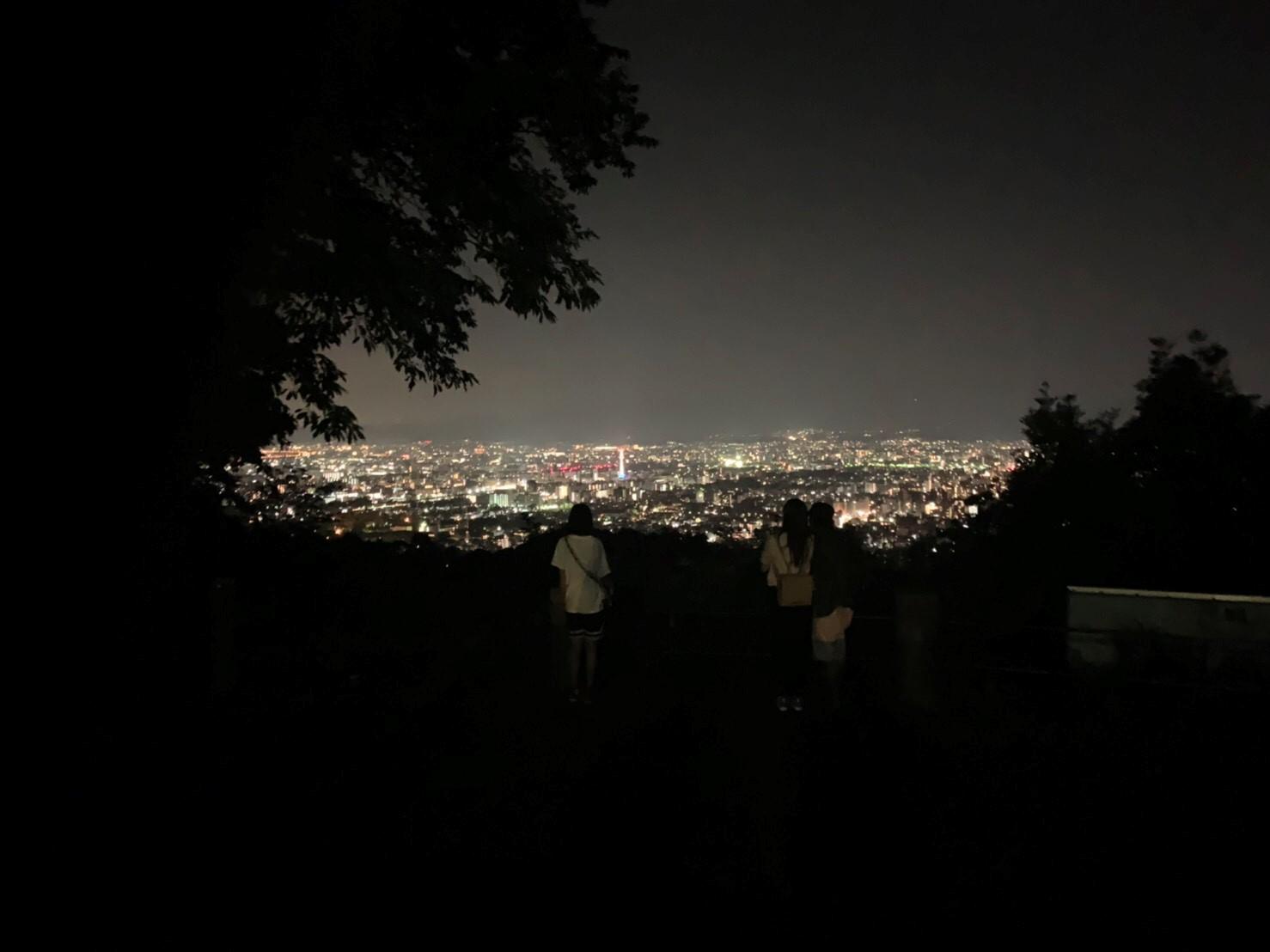 将軍塚西展望台(京都東山)