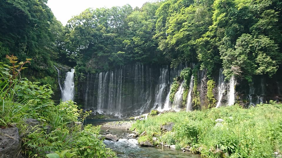 白糸の滝からの静岡観光(富士宮市/三島市)