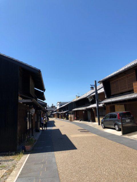 長良川温泉街
