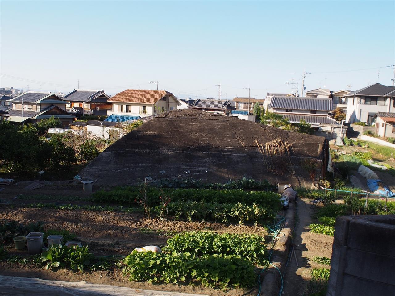 大阪で唯一残る掩体壕 (大阪府八尾市)