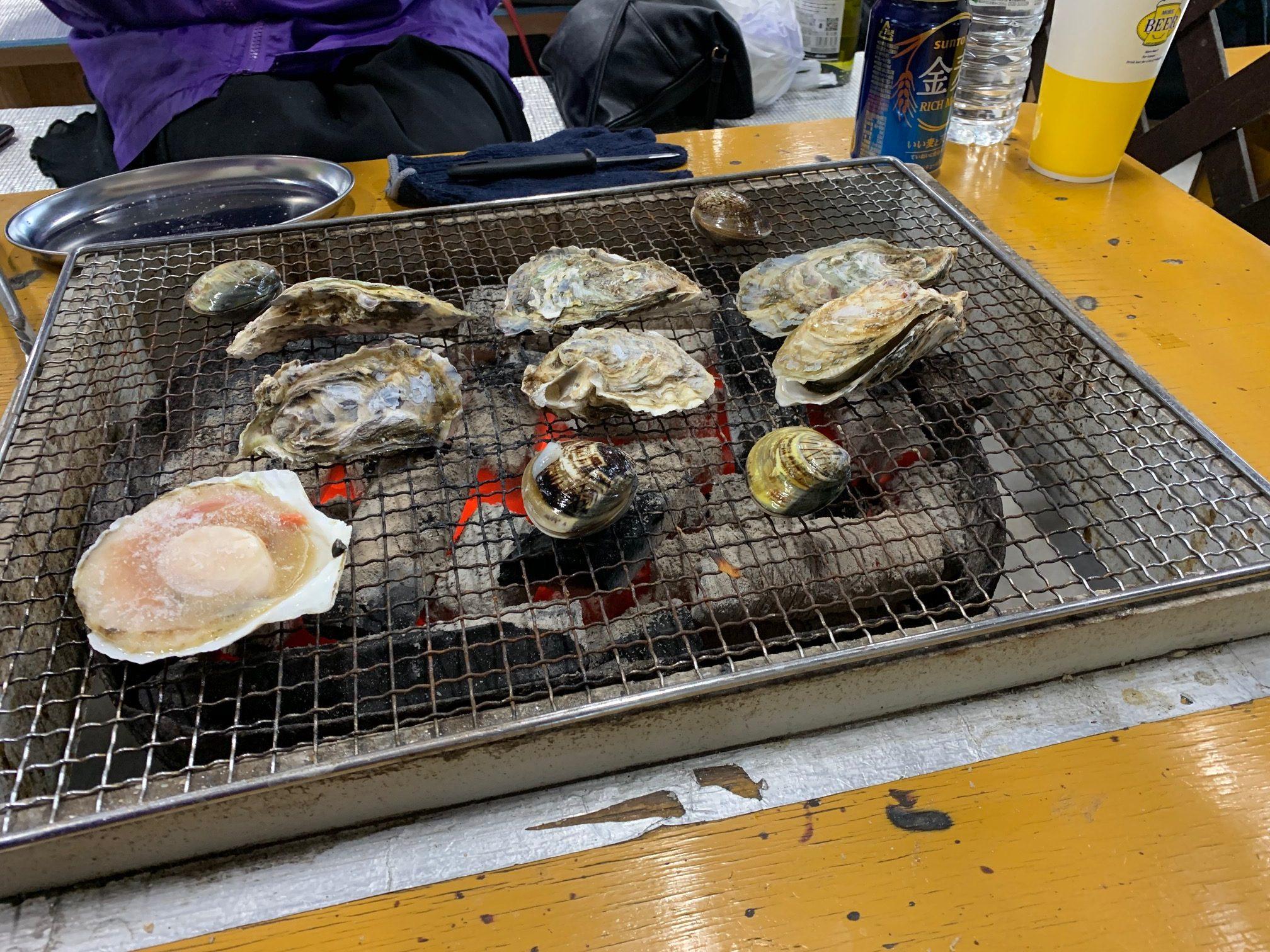 【姪浜駅前店】牡蠣小屋!