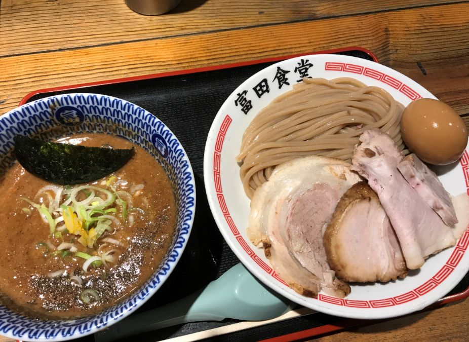 【松戸店】松戸中華そば 富田食堂(千葉県松戸市/ラーメン)