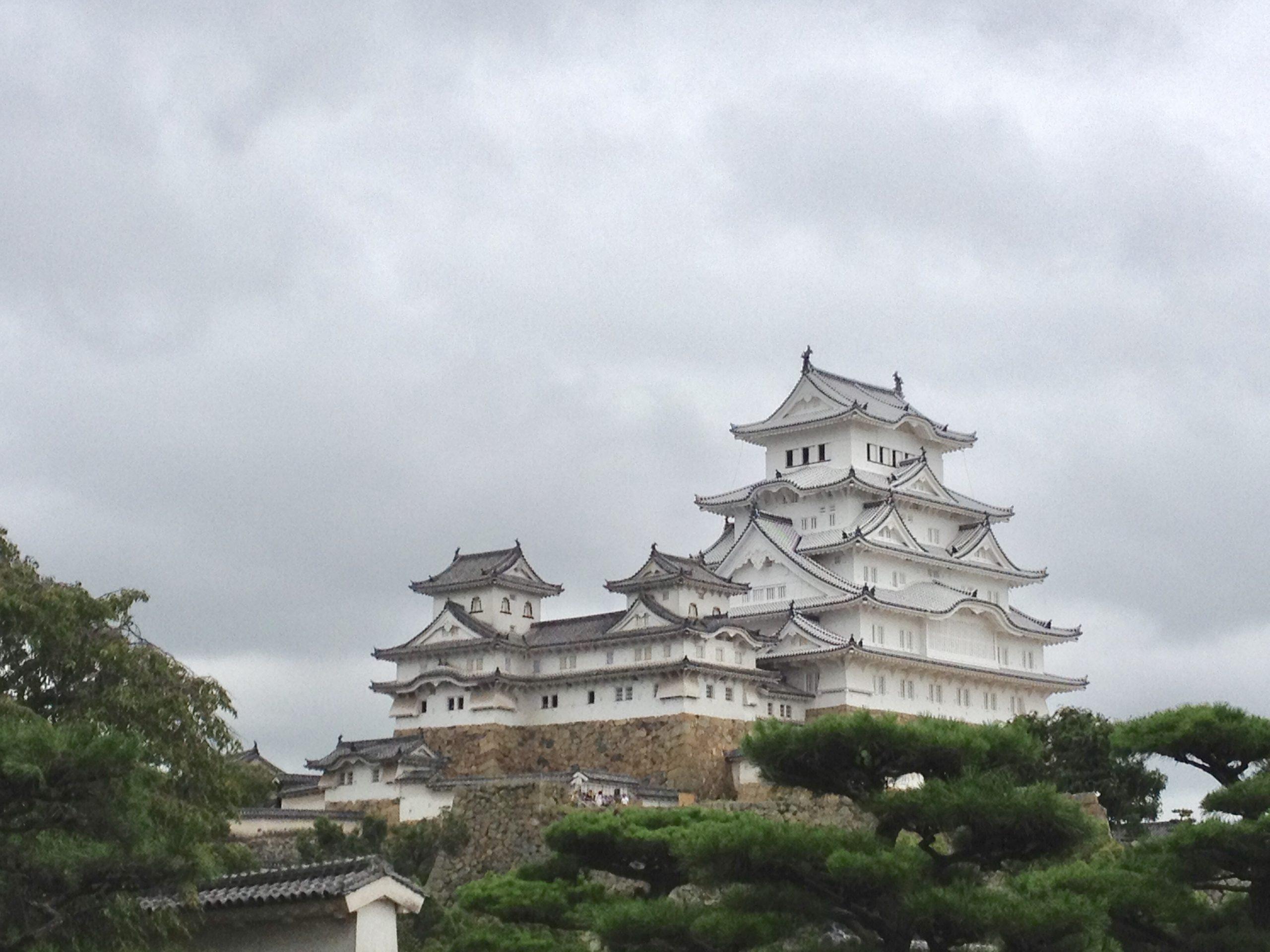 国宝姫路城(兵庫県姫路市)
