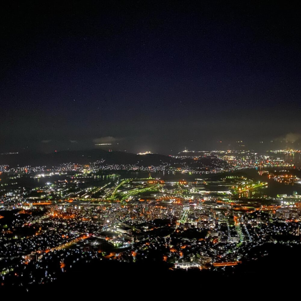 【福岡・博多店】新日本三大夜景「皿倉山」