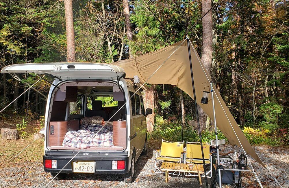 【本店】おおぐて湖キャンプ場①(長野県下條村)