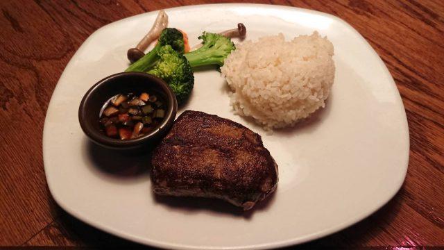 【海老名店】ランプ肉のステーキランチ OUTBACK海老名店
