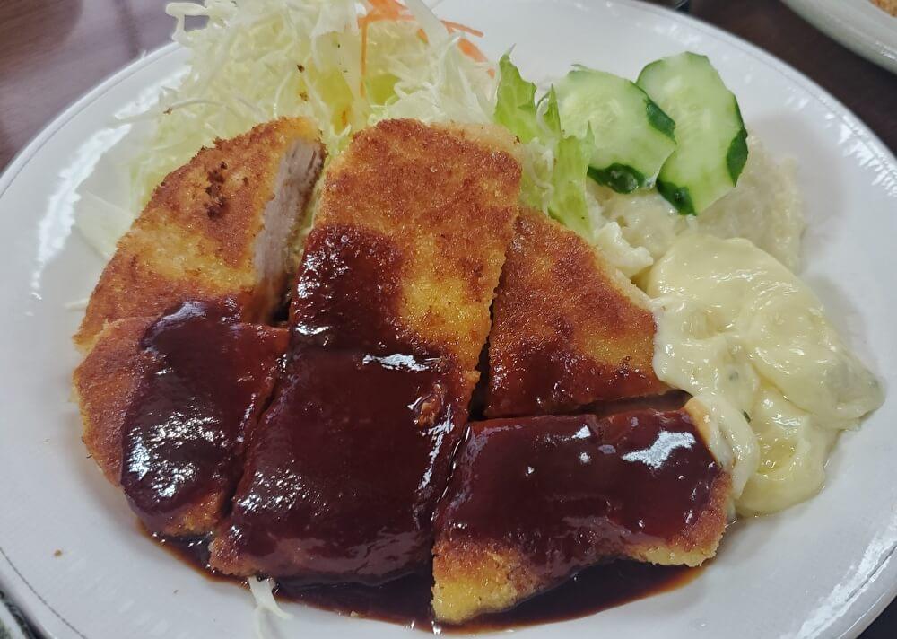 【本店】とんかつオゼキ鈍池店(名古屋市中村区)