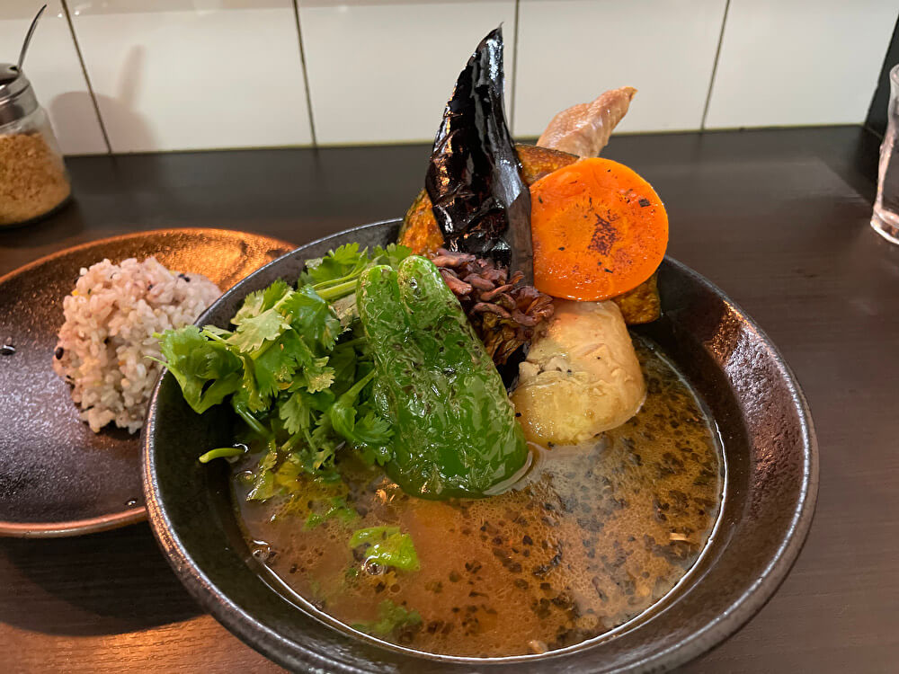 【本店】スープカレーISHIBA(名古屋市熱田区/スープカレー屋)