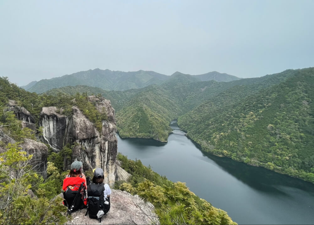 【本店】上臈岩(愛知県新城市・愛知県民の森)