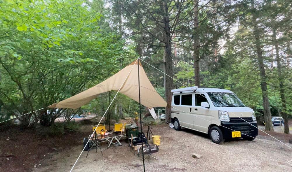 【本店】ふるさと村自然園せいなの森キャンプ場(長野県阿智村)