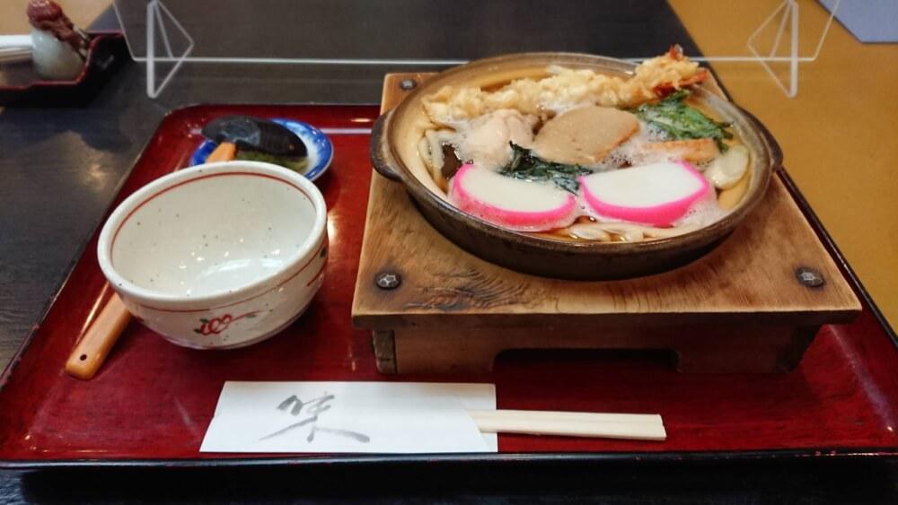 【海老名店】期間限定の鍋焼きうどん やぶ久